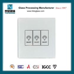 Шелк трафаретной печати нажмите переключатель стеклянная панель для дома расходные материалы