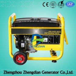 Einphasiger 50Hz 230V 2kw 2kVA Benzin-Generator
