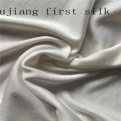 En Soie imprimée Jersey fin tissu de soie