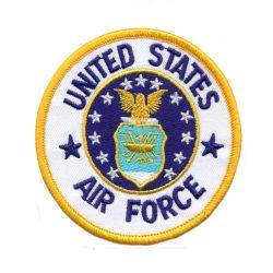Poliéster parche bordado militar