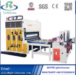 La impresión de cartón y de la máquina de asignación de fechas