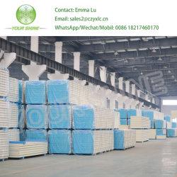 Bouwmateriaal PU/PUR/PIR/Rockwool/Glasswollen/EPS Sandwichpanel voor koude opslag/ruimte Staalstructuur wand- en dakbedekking