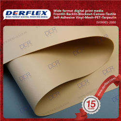 Cortina da janela de fibra de lona de têxteis