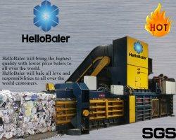 Semiautomáticos Embalagem Máquina de enfardamento de prensa de enfardamento de resíduos de papel