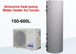 220V split calentador de agua por bomba de calor para la casa o comercial calentador de agua por bomba de calor