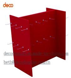 Suporte de monitor de papelão Contador de Exibição de papel caixas de apresentação com gancho