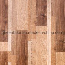 Planchers laminés commerciaux produits en bois naturel en plastique à faible prix planchers laminés pour les matériaux de construction