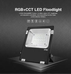 2.4G/Mobile App contrôlé à distance 20W Projecteur à LED RGB+TDC (FUTT04)