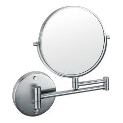 Ronde murale recto-verso 1X/3X loupe de miroir de maquillage avec SUS304 d'images, les bras de pliage & Wall de base (5703)