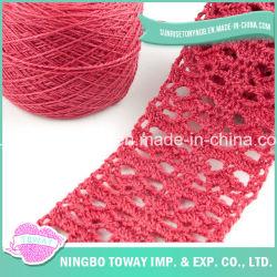 ニット用ニットの低価格ニット製メルセライズドコットンクローシェ糸の販売