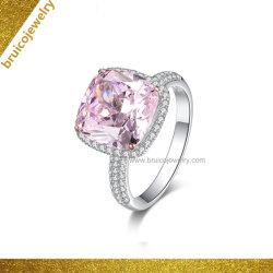 Goldhochzeits-Ring des Form-Zubehör-Schmucksache-Finger-Ring-eingelegter Ring-Diamant-Ring-14K mit Edelstein
