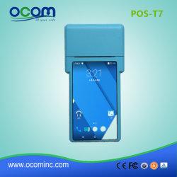 GSM GPRS Terminal POS táctil con impresora