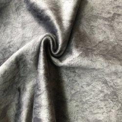 Prime de 100 % polyester Tissu imprimé de la Corée pour le canapé en velours tissu jacquard tissu populaire Rideau