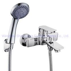 Huadiao 좋은 품질의 욕실 샤워 욕조 수도꼭지 골동품 수도꼭지 욕실 믹서기 세면실 수도꼭지