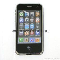 quadribande WiFi Java TV téléphone Mobile Double Carte SIM (M002L)
