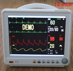جهاز طبي محمول متعدد المعلمات مراقب مريض ICU (8000C)