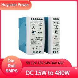 LED 드라이버 12V 40W PSU MDR-40-12 단일 출력 산업용 DIN 레일 전원 공급 장치 12VDC 5V 15V 24V