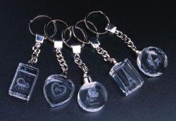 普及した水晶3D LED Keychain (JD-YSK)