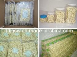 Het landbouw Natuurlijke Gepelde Knoflook van de Hoogste Kwaliteit op Verkoop (de Verpakking van de Zak Vacum & van de Kruik)