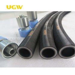 Tubo flessibile di gomma idraulico ad alta pressione caldo diretto della fabbrica En856 4sp/4sh di Ugw per l'escavatore, trivellazione petrolifera