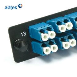 6 портов Quad 24 волокон ODF/ Оптоволоконные соединительные пластины