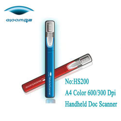 Scanner de caneta sem fio Mini (HS200)