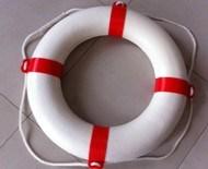 구명 부낭 또는 라이프 링 또는 인명구조 부표 또는 바다 인명구조 부표 구명정 구명 조끼
