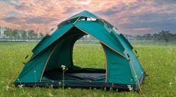 Einfache sofortige automatische knallen oben 4 Personen-doppelte Schicht-kampierende im Freien wasserdichte Zelte