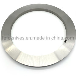 ペーパーフィルムのプラスチックゴム製タイヤの切断のための上の皿スリッター刃