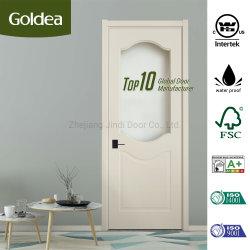 المصنع / المصنع الكلاسيكية منزل مستشفى الشقق السكنية كودو PVC الداخلية الخشبية باب حمام المطبخ (DM01BC-941)