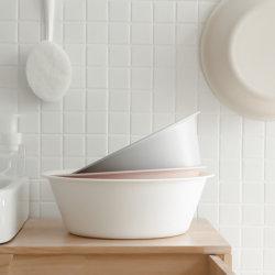 Mate de estilo japonés, lavabo, hogar de plástico gruesa Cuenca, cuenca de origen vegetal, el lavado de la cuenca y de lavandería