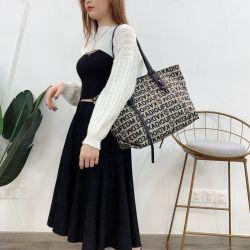 Pano de impressão sacola de compras no mercado grossista Design grandes mulheres Tendencial Sacos sacola de ombro