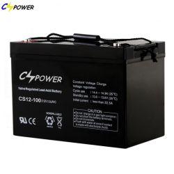 Cspawer batterie 12 V 100 ah/150 ah/200 ah à cycle profond-sans-AGM-Battery/ étanche-plomb-acide-VRLA batterie/batterie acide pour UPS/EPS/solaire/Telecom/stockage de rhum