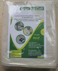 9 ' Baumwollabsinken-Blatt-China-Lieferant des x12 Segeltuch-Schutztuch-260GSM