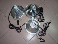 مشبك مصباح مع ألومنيوم عاكس ([هت-105])