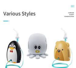 Nebulizador portátil de compressão de asma aprovado pela CE, adulto e criança Utilize