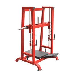 Home Gym Fitness apparatuur Plate Loaded been Press Hammer Strength Trainingsmachine