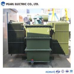 삼상 두 배 감기 에 짐 전압 통제 기름에 의하여 가라앉히는 전력 변압기 35kv
