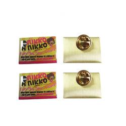 Высокое качество индивидуального утюг выбит/цинкового сплава/латуни выбит значки контакт