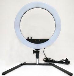写真のスタジオの照明180PCS LEDリングライト5500Kカメラの電話表の写真撮影のDimmableランプ