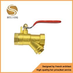 水真鍮Yタイプこし器の空気清浄器の石油フィルター