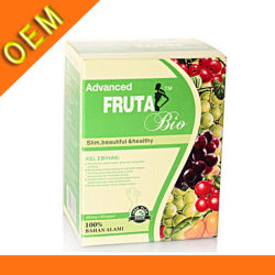 Bouteille de vente chaude Fruta Bio Slimming Capsules de l'alimentation