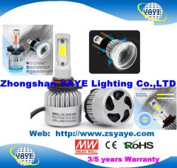 Yaye 18 최신 인기 상품 도매 싼 C6 자동 H1 H3 H4 H11 H13 9007 9005 9006 9012의 LED 헤드라이트 LED 차 빛 36W