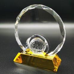 Diamant schnitt ringsum Kristallgolf-Preise. Farben-Unterseite