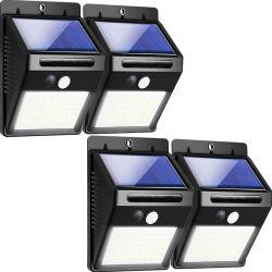 機密保護庭のヤードのための夜によって取付けられる太陽LED軽いIP65 5Wの動きセンサーエネルギー屋外の動力を与えられたLED太陽壁ランプライト