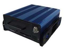 4 canaux HD 1080P DVR Mobile