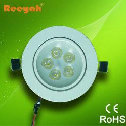 LED de 5 W baixar as luzes de LED de luz de teto, IP50