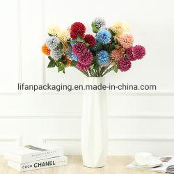 رؤوس صناعية مصنوعة يدويا ثلاثة زهرة الأقحوان