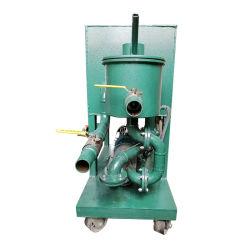 Filtro de aceite de acero inoxidable olla el aceite de cocina equipo de la máquina pulsando con filtro de aceite