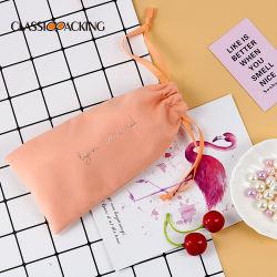 Óculos de armazenamento portátil de veludo saco para roupa suja saco cosméticos Dom Promocional mala bolsa